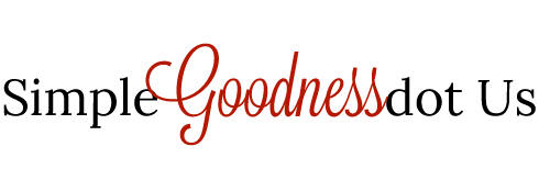 Simple Goodness Logo